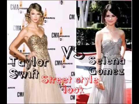 Taylor Swift VS Selena Gomez||Street Style Look. http://bit.ly/2Z6ay3A
