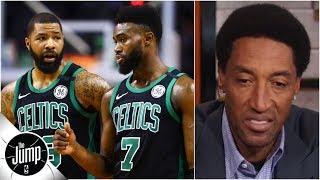 Scottie Pippen is worried about Celtics following in-game argument | The Jump
