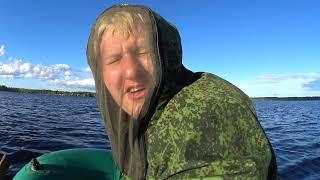 Попалась красная рыбина Женщина в лодке к удаче или наоборот