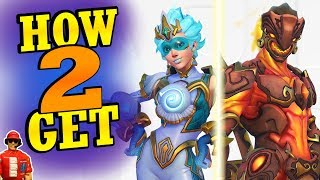 How to Get All-Star Weekend Skins! (Overwatch Tracer & Genji All-Star Skins)