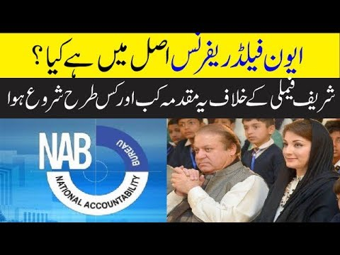 What is the case of Avenfield Apartments about Sharif Family