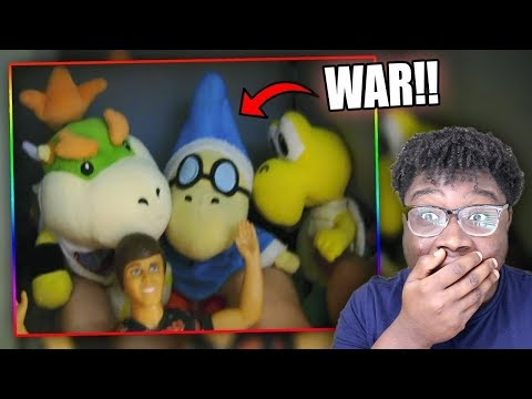 BOWSER JR. GOES TO WAR!   SML Movie: Bowser Junior's Pillow Fort!