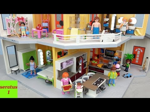Nouvelle Maison Moderne Playmobil 2018 Youtube