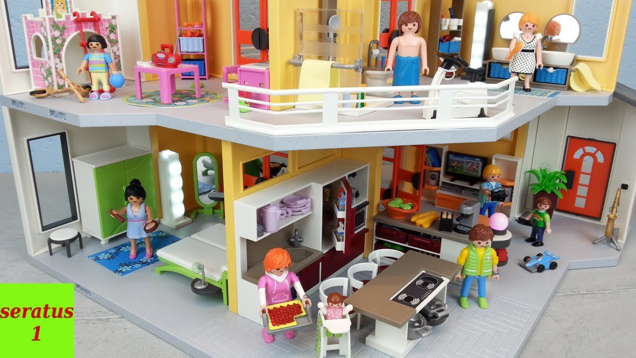 Beautiful maison moderne playmobil gallery design trends for Cuisine playmobil