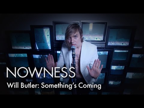 """Will Butler's """"Something's Coming"""" by Marcel Dzama"""