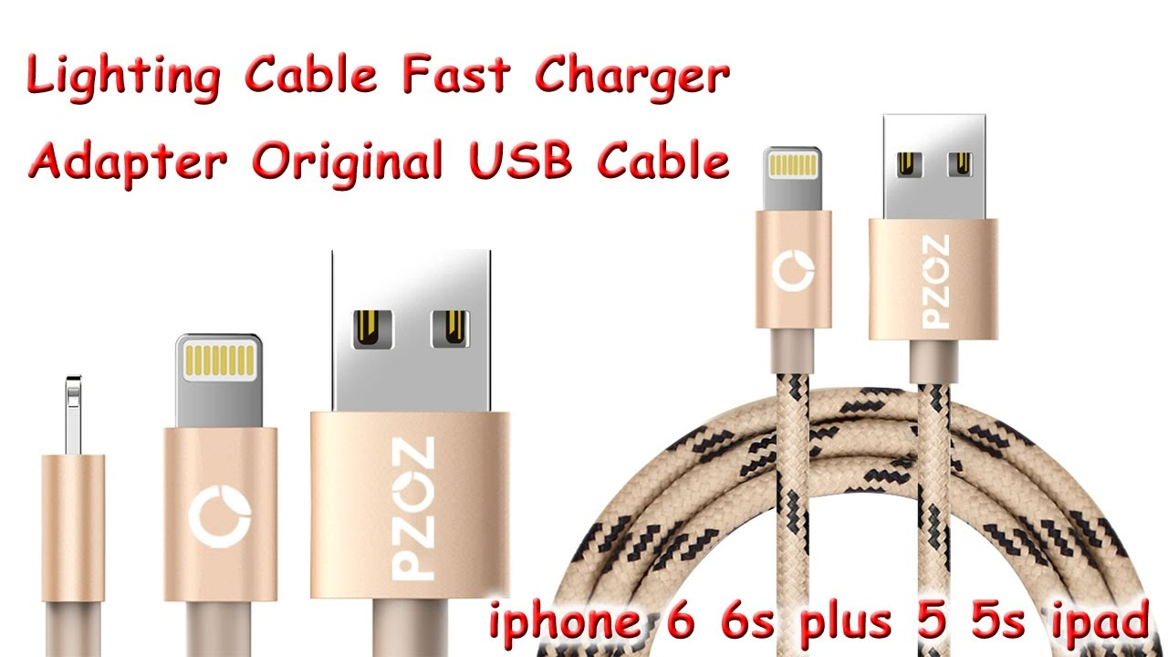 online retailer a2386 79ee2 Fast Charger Adapter Original USB Cable For iphone 6 6s plus 5 5s ipad #3