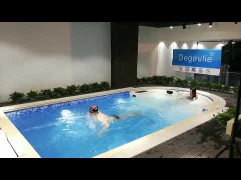 Swimming Pool Current Machine - YouTube