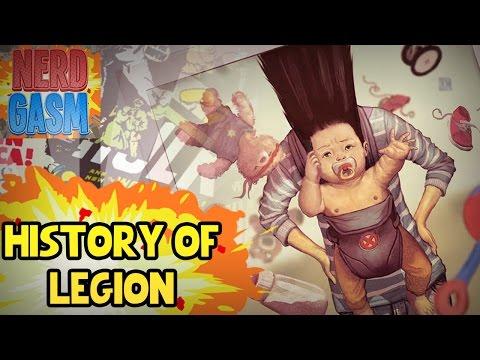 Who is Legion?   History of Legion (David Haller)