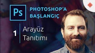 Photoshop Dersleri Başlangıç 1 Arayüz Tanıtımı & İlk Çizgimiz