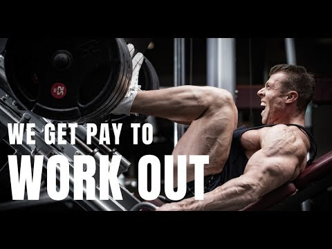 Our Boss Pays Us For Working Out¡¡¡