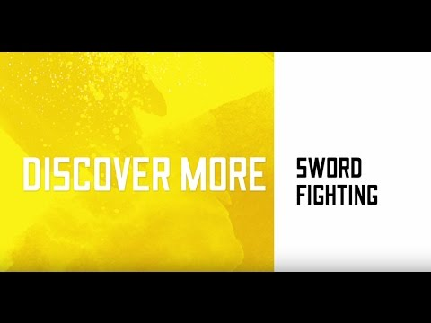 Shakespeare's Globe exhibition - sword fighting demonstration