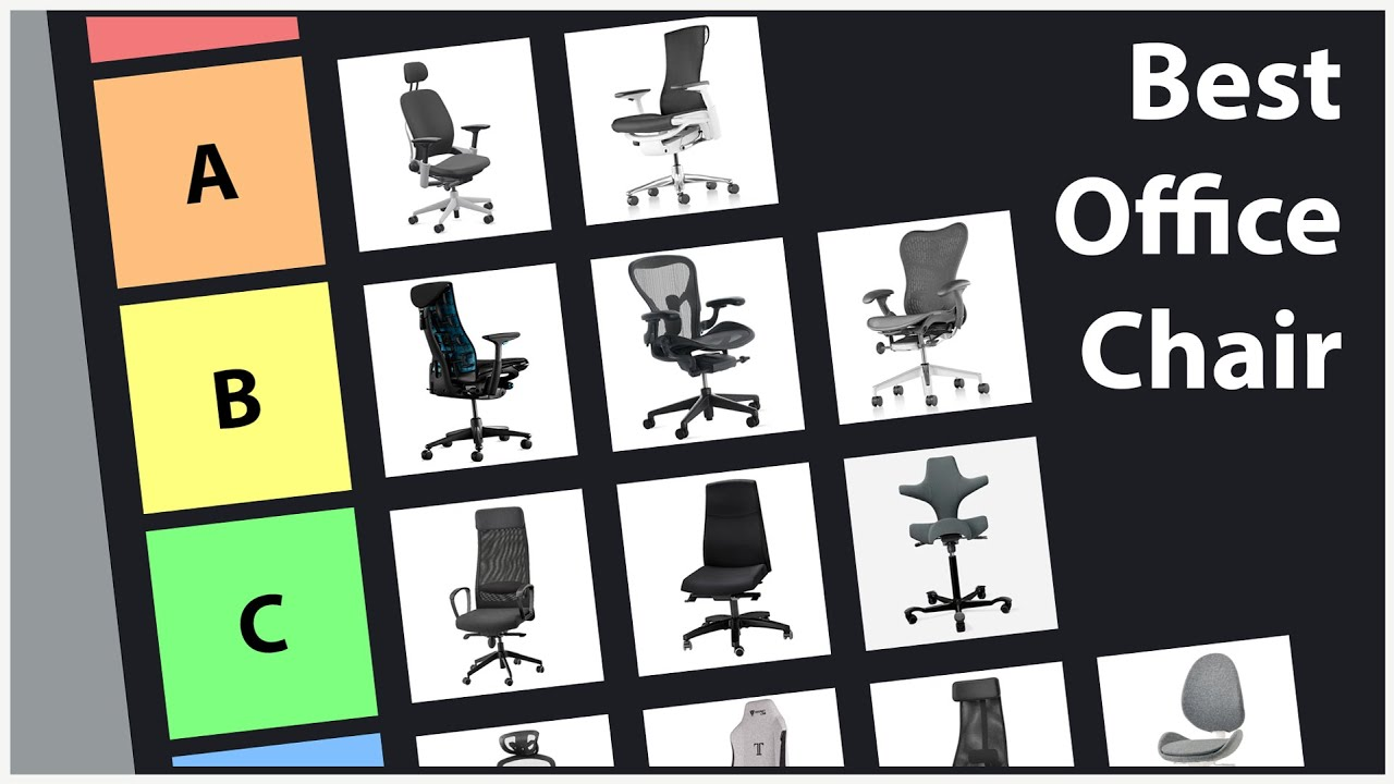 Download The Best Office Chair Tier List