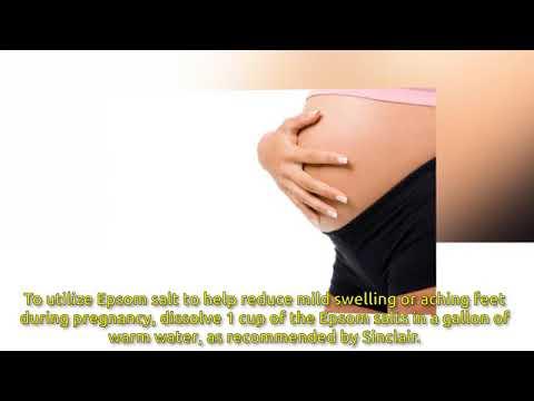 Epsom Salt While Pregnant Pregnancy Care  The Women