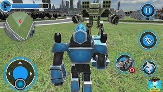 Futuristic Robot Car Wars 2018 - Android GamePlay HD