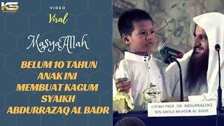 Download Video VIRAL - Anak Kecil Ini Mendapat Hadiah Spesial dari Syaikh Abdurrazaq Al Badr Hafidzhahullah MP3 3GP MP4