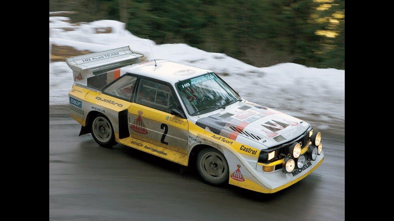 Audi S1 Sport Quattro Montecarlo 1986 - YouTube