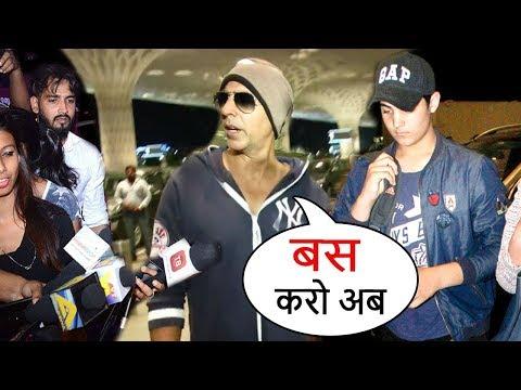 Akshay Kumar's Son Aarav & Other Bollywood Celeb Kids Harassed By Media In Public
