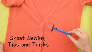 Great Sewing Tips and Techniqu…