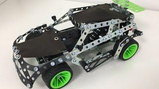 Meccano Rallye (25 modèles motorisés) - Construction en français