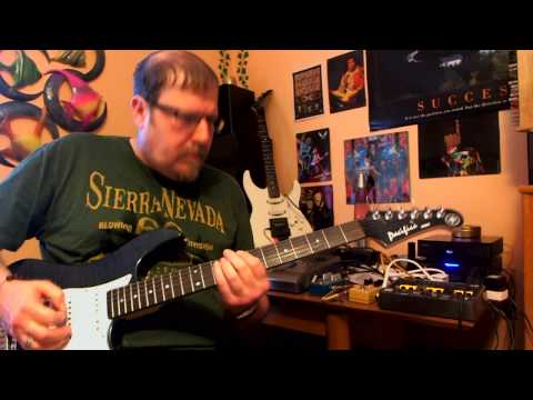 Demo of Yamaha Pacifica 212 vfm with Dimarzio tone zone