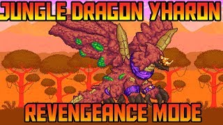 How to Easily Beat Yharon in Revengeance mode! Terraria Calamity Mod Boss Guide!