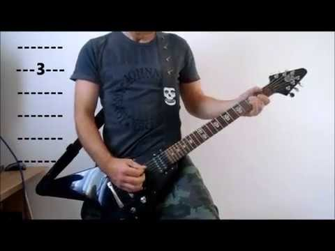 The Misfits - Scream - Play Along Guitar Tutorial