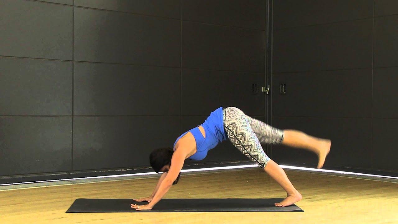 Yoga-inspired Dynamic Warm-up - YouTube