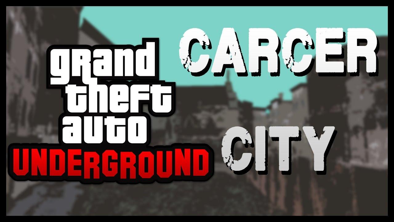 Gta Underground Carcer City Progress Youtube