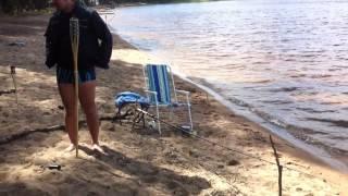 наш отдых на берегу о.Селигер(прогулка по берегу из леса к нашему скромному лагерю...., 2013-07-27T16:42:24.000Z)
