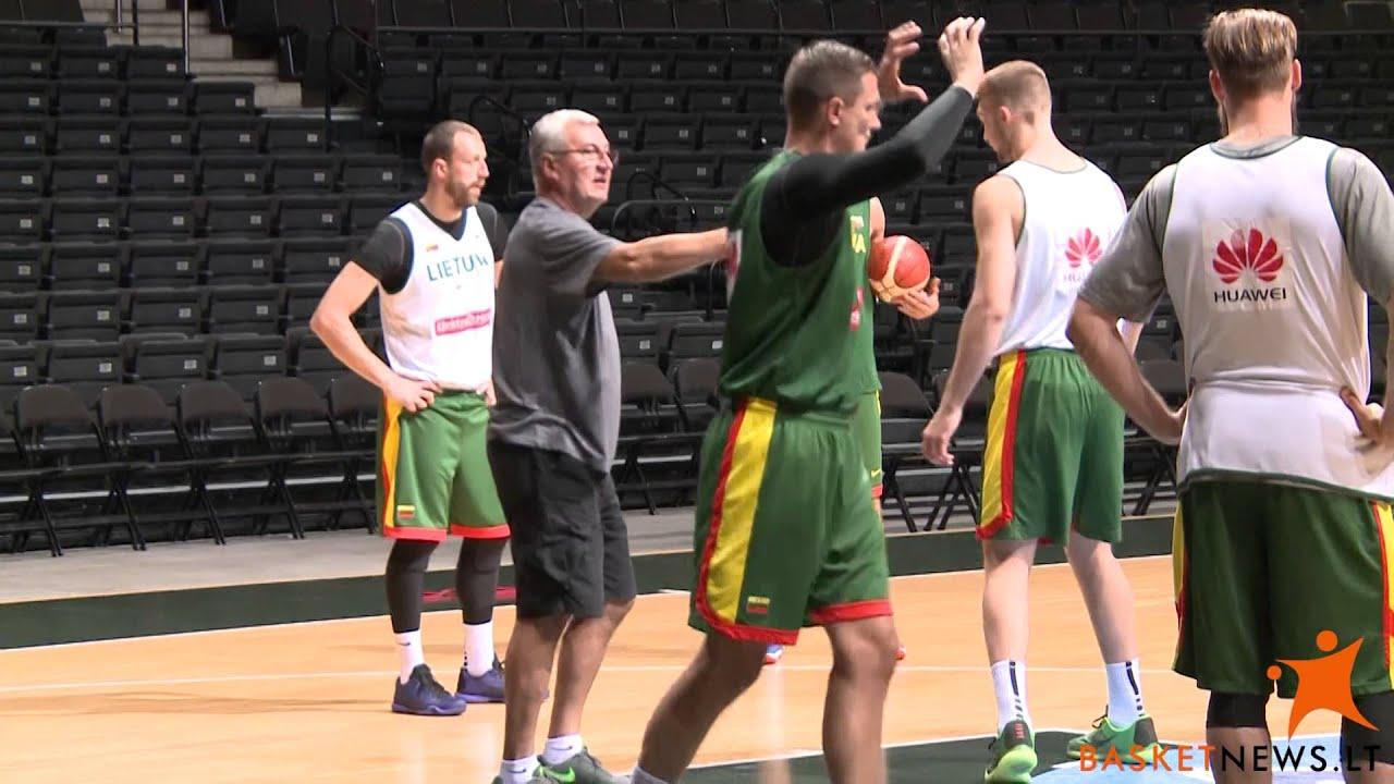 Basketnews.lt išpildė D. Dragūno svajonę - jis stebėjo J. Kazlausko darbą