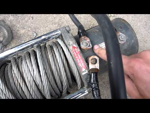 Rewiring and Troubleshooting a Warn M8000 Winch - Part 1 - YouTube on