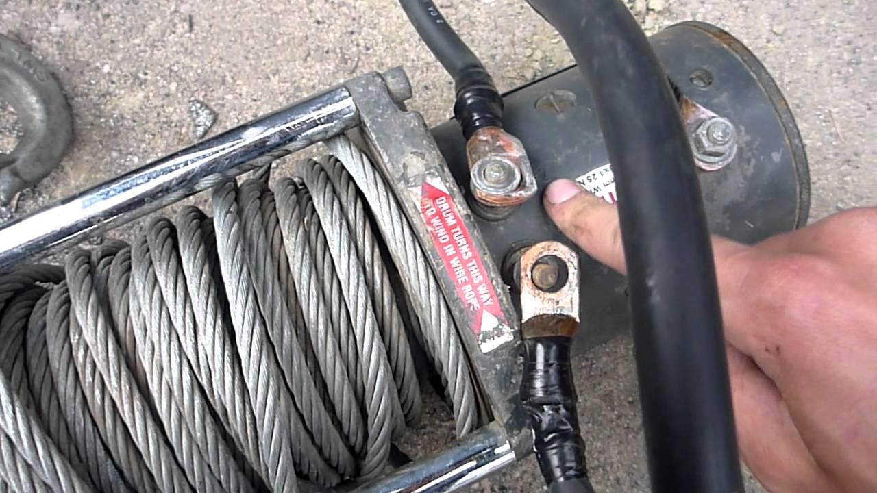 Rewiring and Troubleshooting a Warn M8000 Winch  Part 1  YouTube