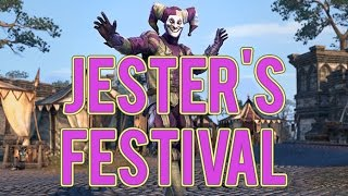 ESO: Jester&#39s Festival Event! New Daily Quests, XP Buff, Costumes, and more!