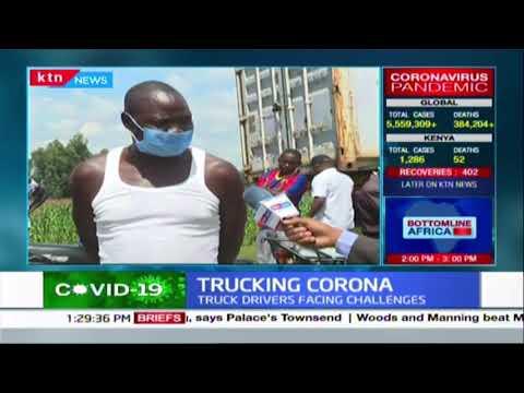 Truck driver stuck in traffic towards Malaba decries the mistreatment of drivers