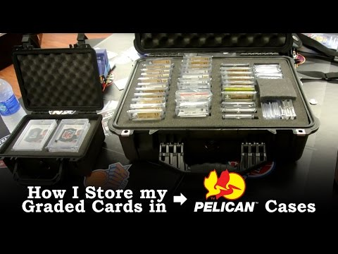 How I Store My Graded Sports Cards In Pelican Cases Bgs Psa