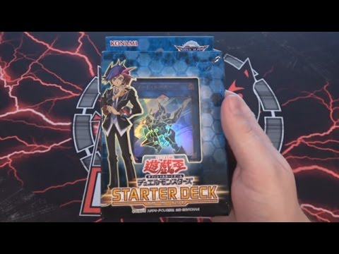 Yugioh VRAINS Starter Deck 2017 OCG Opening - New Link Monsters & New Rules!