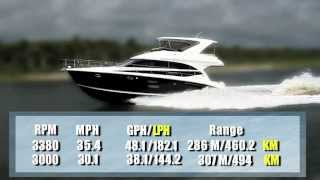 Meridian Yachts 441 Sedan Test 2013- By BoatTest.com