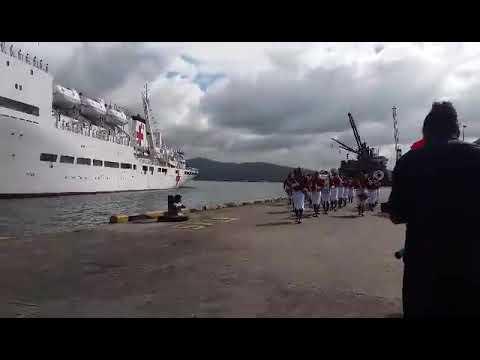 Ark Peace arrives into Fiji (Suva port)