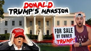 (GONE WRONG) I PUT DONALD TRUMPS MANSION UP FOR SALE // CHASED BY SECURITY! | MOE SARGI