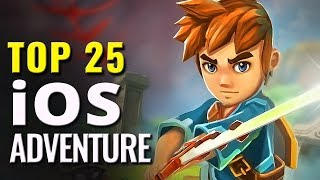 Top 25 Best iOS Adventure Games