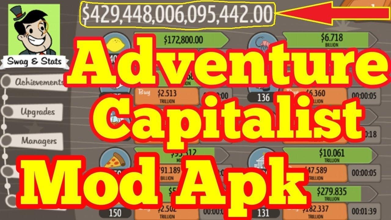 Adventure Capitalist Mod Hack Apk Download vs 6 0 Unlimited Money & Gold