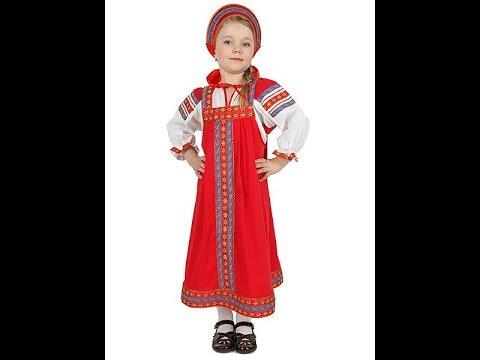 Как сшить детский сарафан своими руками русский