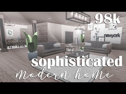 ROBLOX | Welcome to Bloxburg: Sophisticated Modern Home 96k