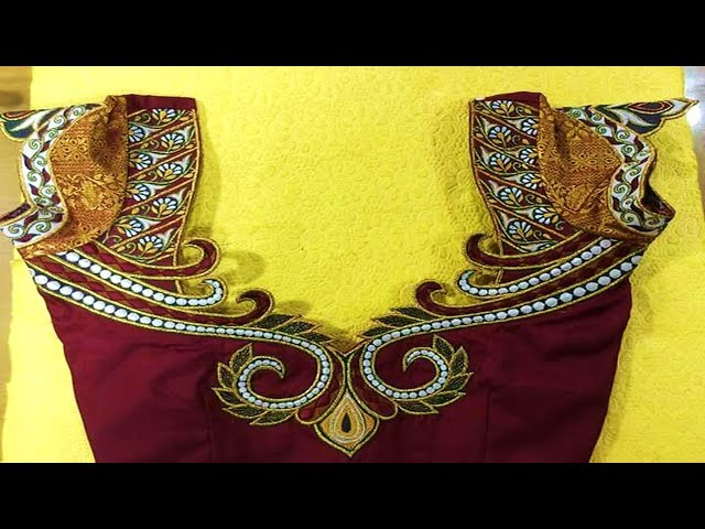 Heavy Maggam Work Blouse Designs (part 06)