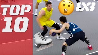 Top 10 Ankle Breakers of 2018 - FIBA 3x3
