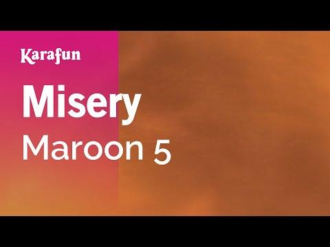 Karaoke Misery  Maroon 5 *