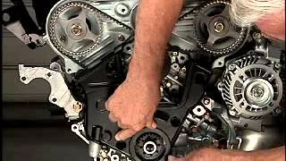 Замена ремня ГРМ бензинового двигателя 3,0 л 6B31. Часть 2