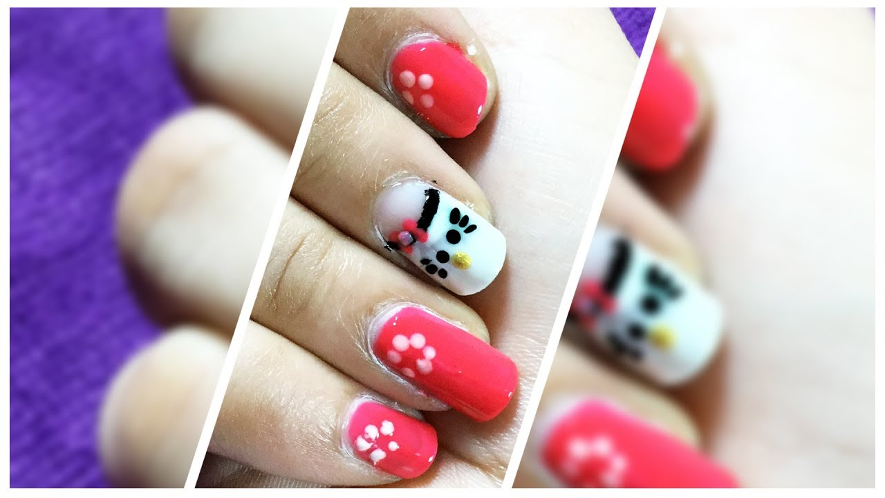 Nails decorated with Nail Art polish | New Nail Art design trend ...