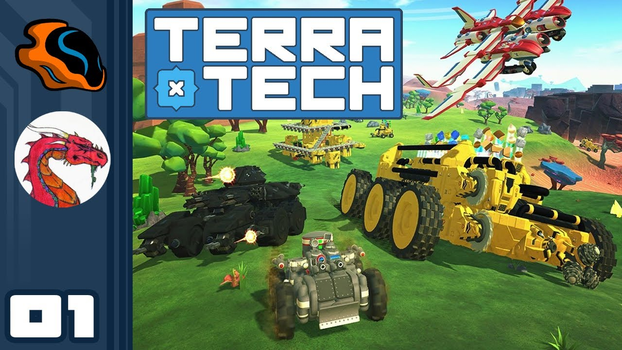 Terratech Has Multiplayer, And It's A Ton Of Fun! - Let's Play Terratech [Co-Op with Aavak] - Part 1