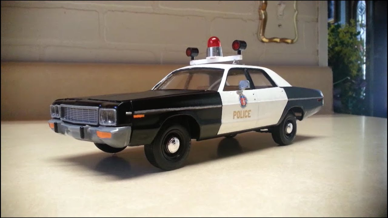 Kit Build: 1973 Dodge Polara from Disney's Freaky Friday (1976) part 3